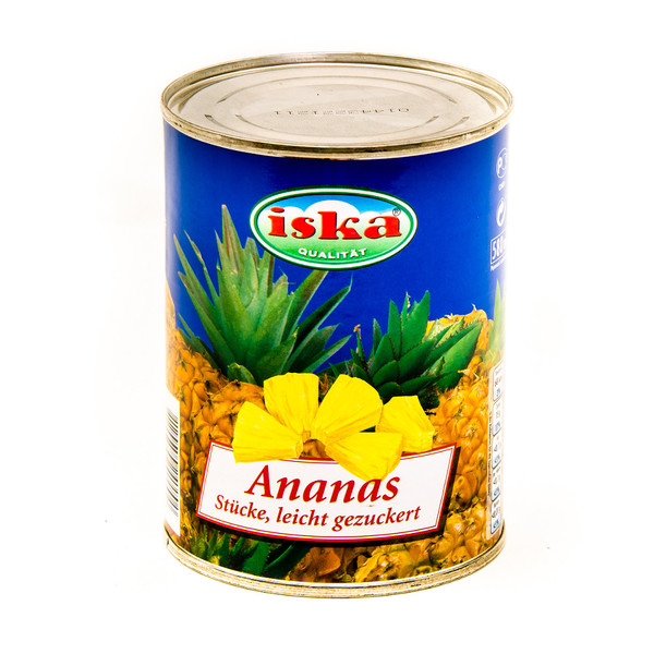 Pineapple compote - pieces (tin)