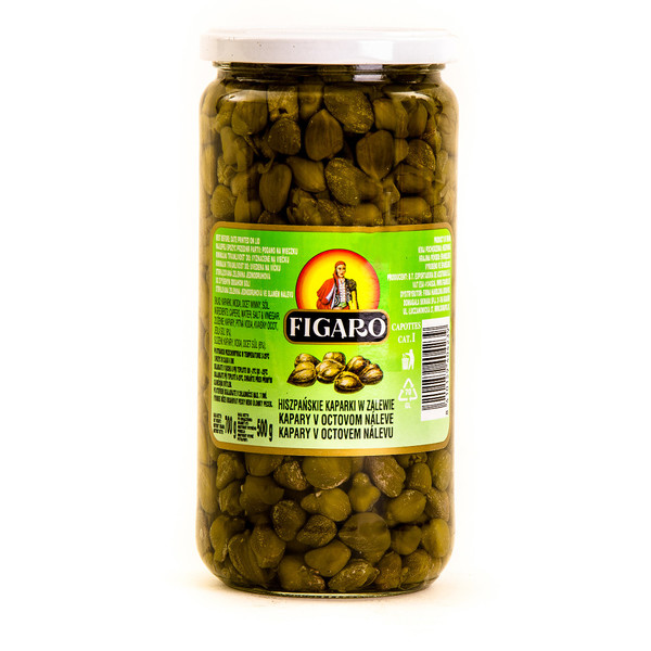 Very fine capers (glass)